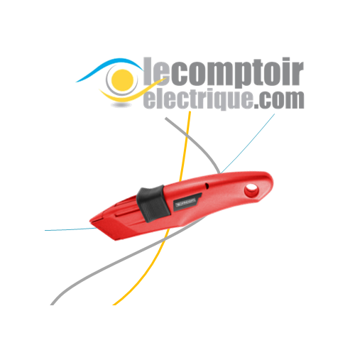 Couteau de securite a lame retractable - FACOM 844.D