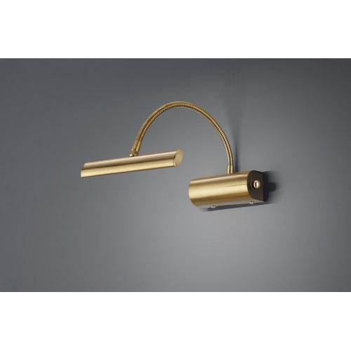 Applique LED CURTIS LAITON FUME - TRIO 279770104