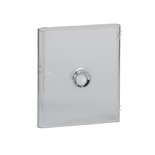 Porte DRIVIA transparente pour coffret Legrand 1 rangée 13 modules IP40 - LEG 401341