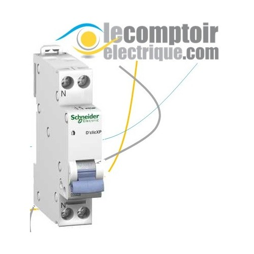 240-415VCA Schneider Electric A9A26924 iOF contact auxiliaire 50//60 Hz 24-130VCC Blanc Acti9